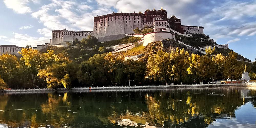 Fotos: Palácio Potala em Lhasa, sudoeste da China