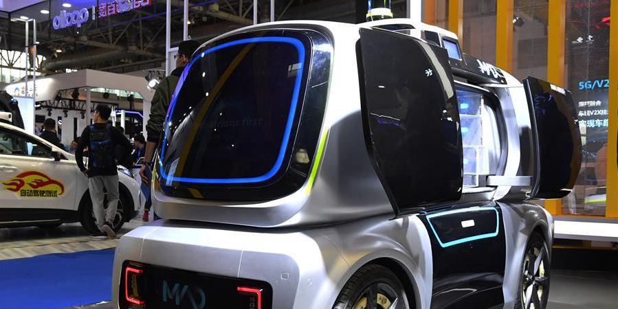 Conferência Mundial de Veículos Ligados Inteligentes 2019 abre em Beijing