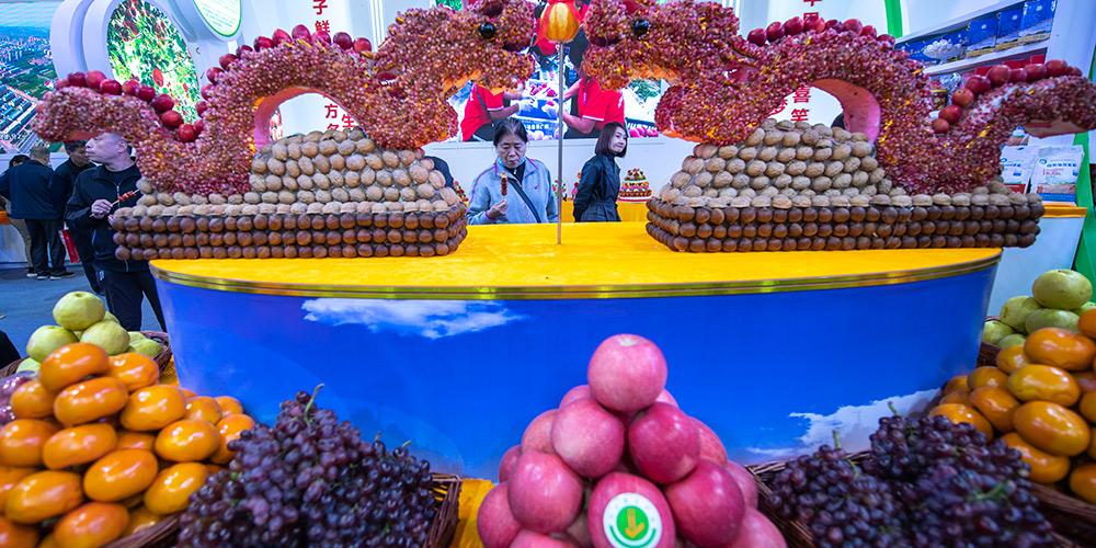 Destaques da Exposição Internacional do Comércio de Frutas de Shanxi (Yuncheng)