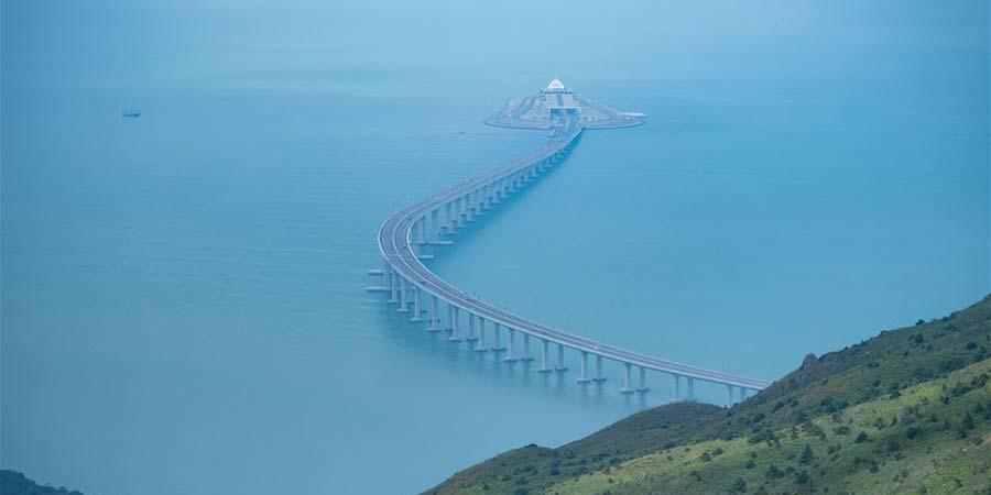 Fotos: Aniversário de um ano de abertura da Ponte Hong Kong-Zhuhai-Macau