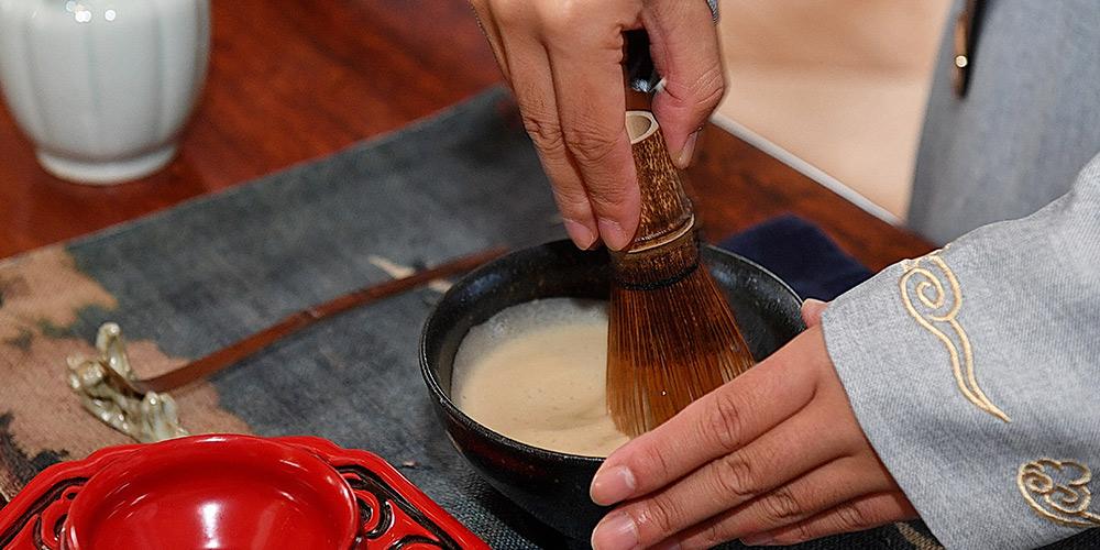 Tradicioal técnica chinesa de preparo de chá: Dian Cha