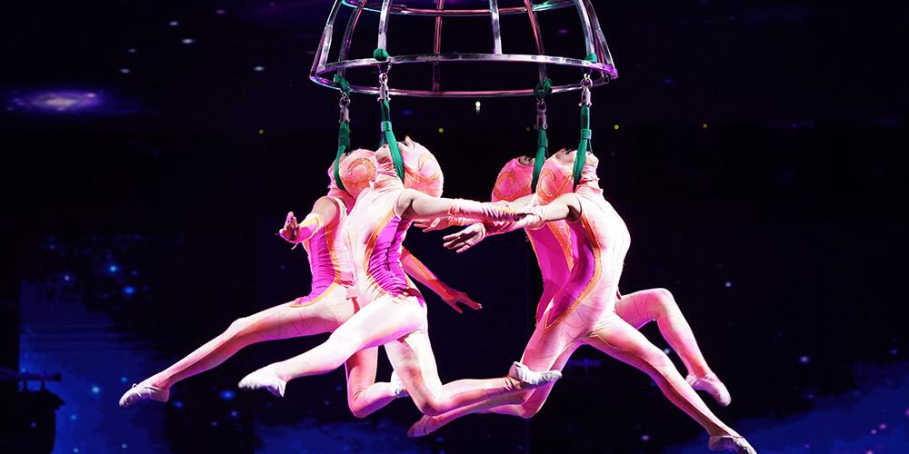 17º Festival Internacional de Circo da China (Wuqiao) é aberto em Shijiazhuang