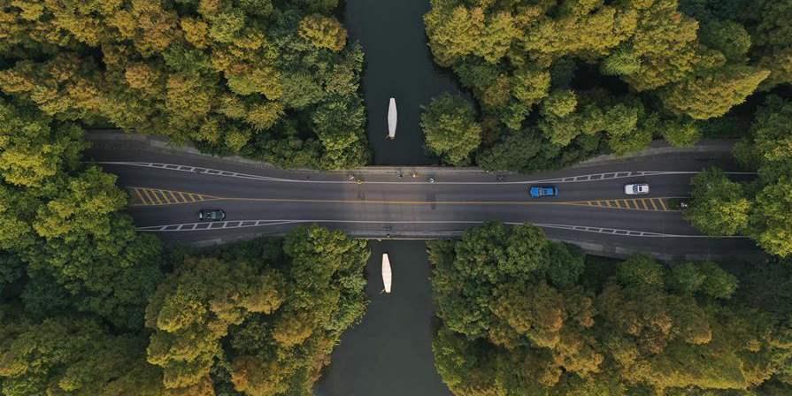 Fotos: Paisagem da área cênica do Lago Oeste em Hangzhou