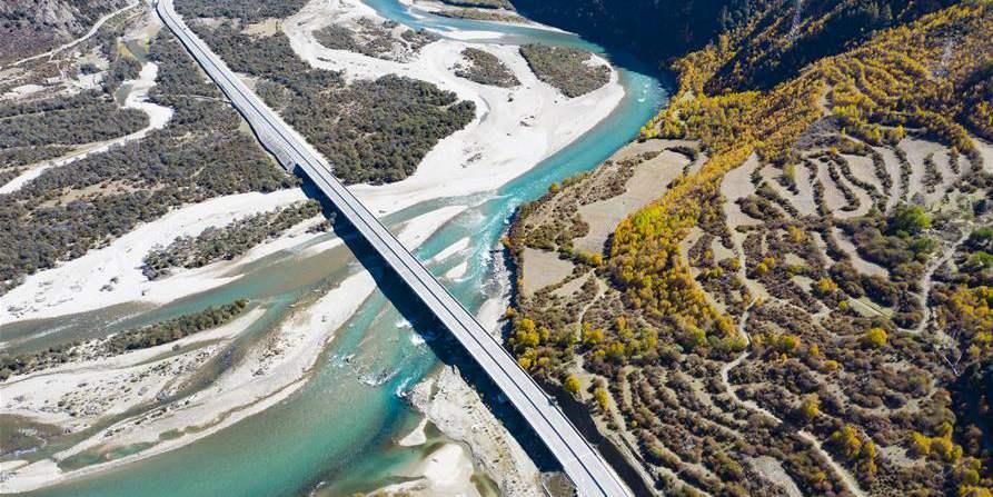 Fotos: Rio Nyang em Nyingchi no Tibet, sudoeste da China