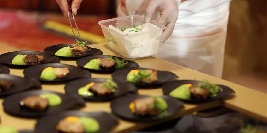 Evento de intercâmbio de artes culinárias é realizado em Mianyang, sudoeste da China