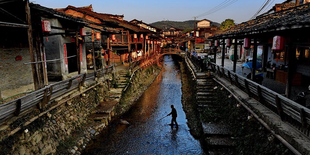 Fotos: Residências clássicas da antiga aldeia de Xiamei em Fujian, sudeste da China