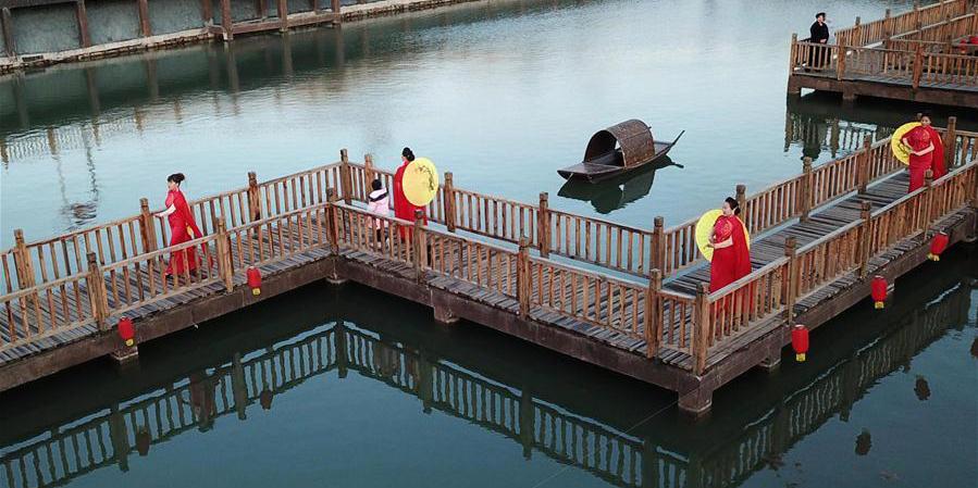 Houtaizi, aldeia no norte da China, tem melhoria significativa do ambiente de vida rural