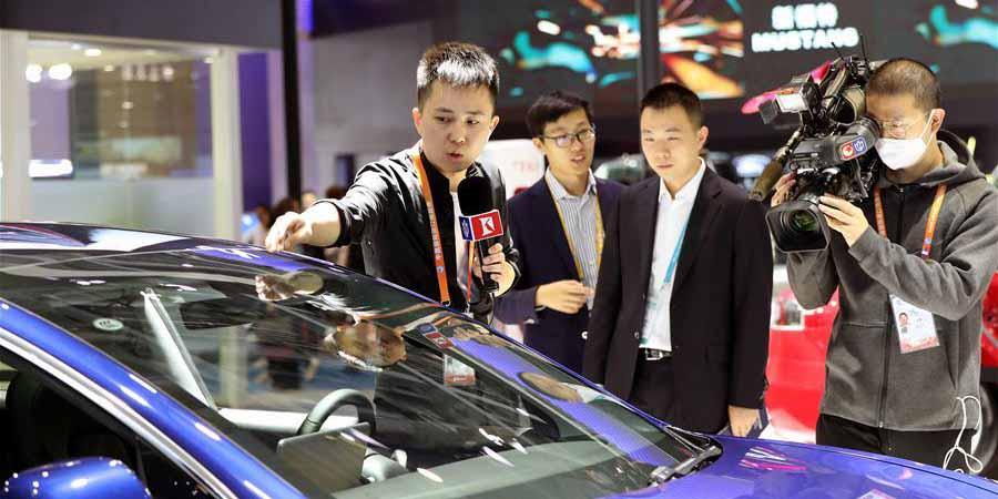 Dia dos Jornalistas da China é marcado durante a 2ª CIIE em Shanghai