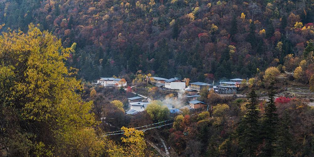 Fotos: Paisagem da aldeia Yubeng em Yunnan, sudoeste da China