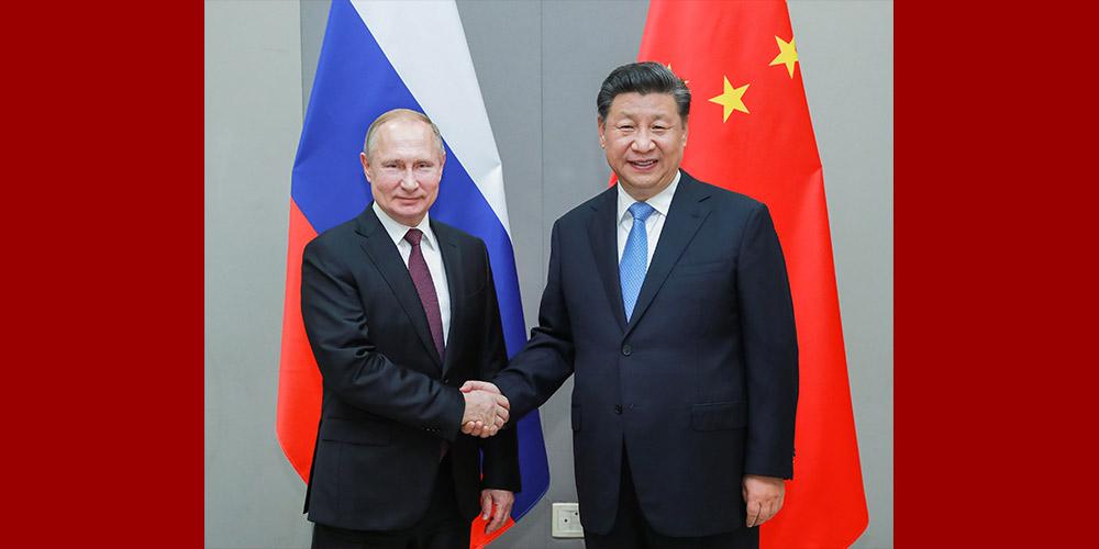 Xi pede que os laços China-Rússia mantenham dinâmica sólida de desenvolvimento em um alto nível