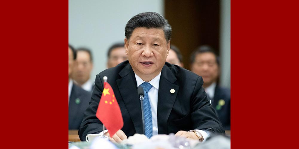 Xi pede que países do BRICS defendam multilateralismo