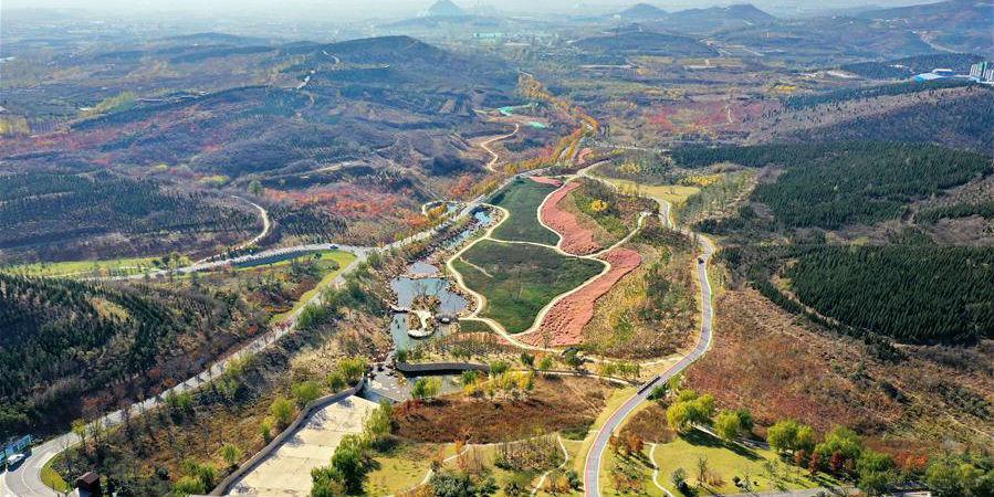 Parque Zishan se renova através de restauração ecológica e melhoria da paisagem