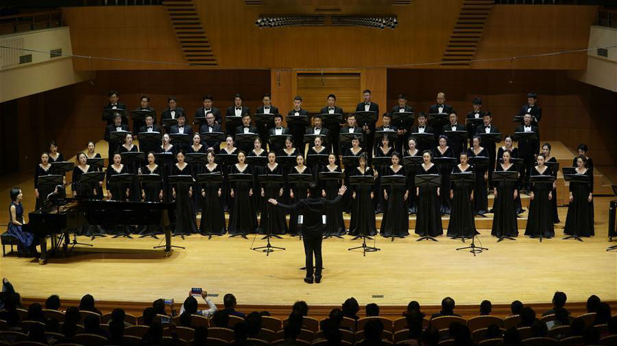 Fotos: Concerto coral clássico realizado em Beijing