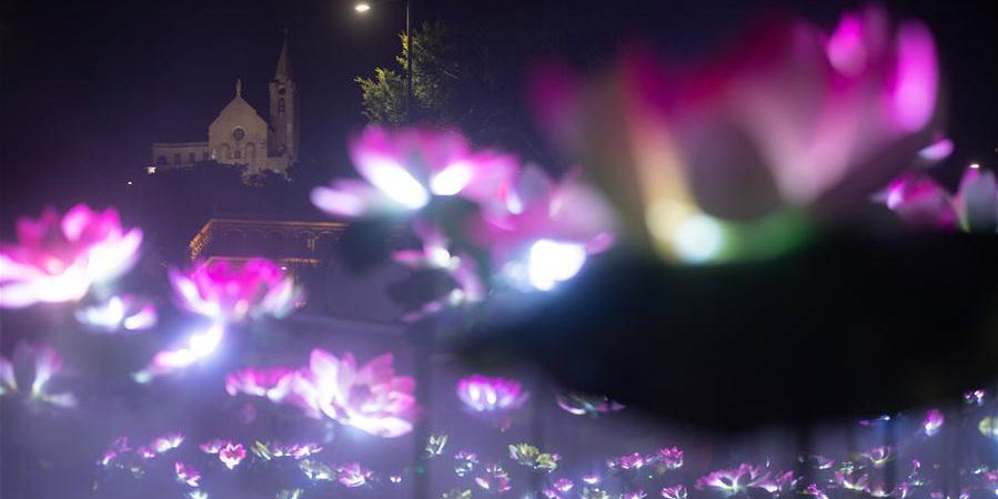 Festival de Luz de Macau 2019 é inaugurado no sul da China