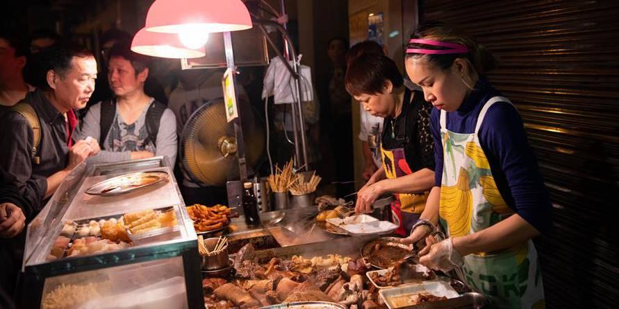 Grande variedade de aperitivos locais enriquece a vida cotidiana em Macau