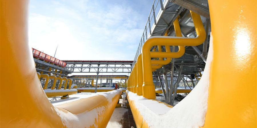 Gasoduto da Rota Oriental China-Rússia entra em operação