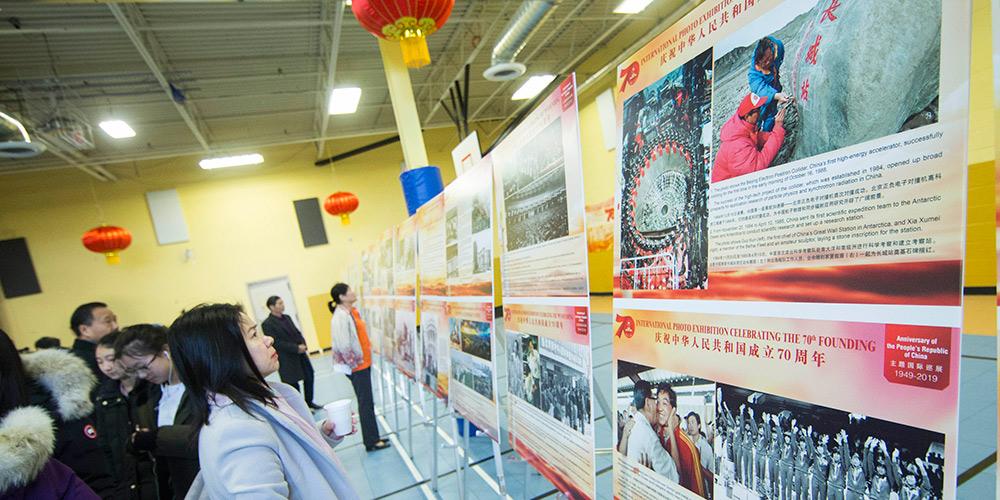 Exposição fotográfica marca 70º aniversário da fundação da RPC no Canadá