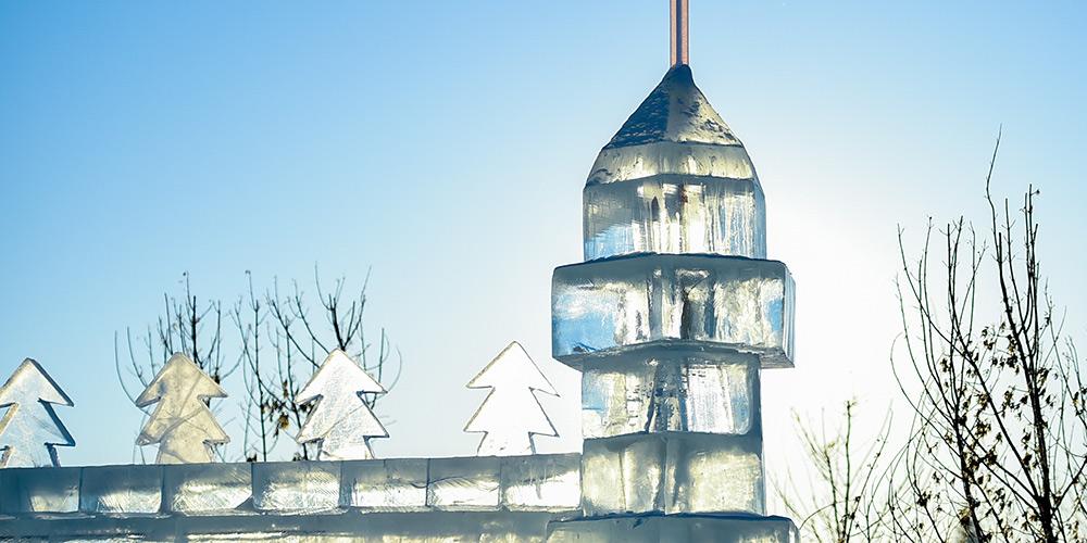 Fotos: Esculturas de gelo em Yakeshi, na Mongólia Interior, norte da China