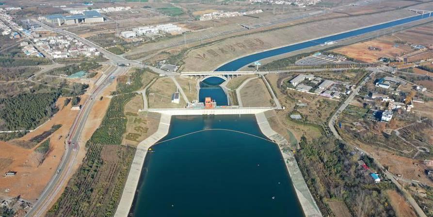 Fotos: Projeto de Desvio de Água do Sul para o Norte em Nanyang, província de Henan
