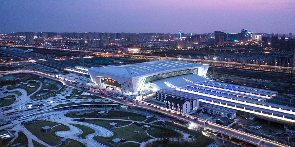 Novas linhas ferroviárias de alta velocidade entram em operação em Jiangsu, leste da China