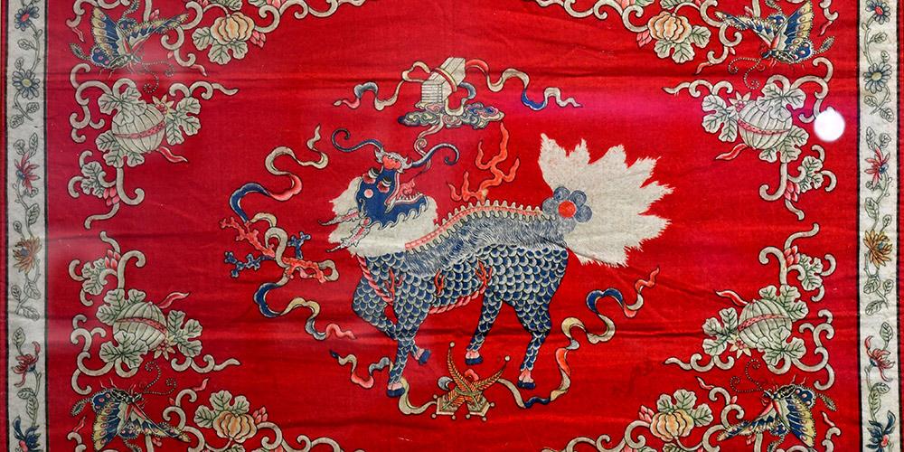 Exposição do bordado Jin é realizada no Museu de Arte de Taiyuan