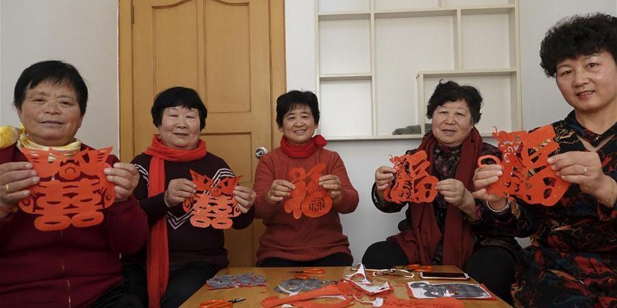 Várias atividades culturais são realizadas em Qingdao para a próxima Festa da Primavera