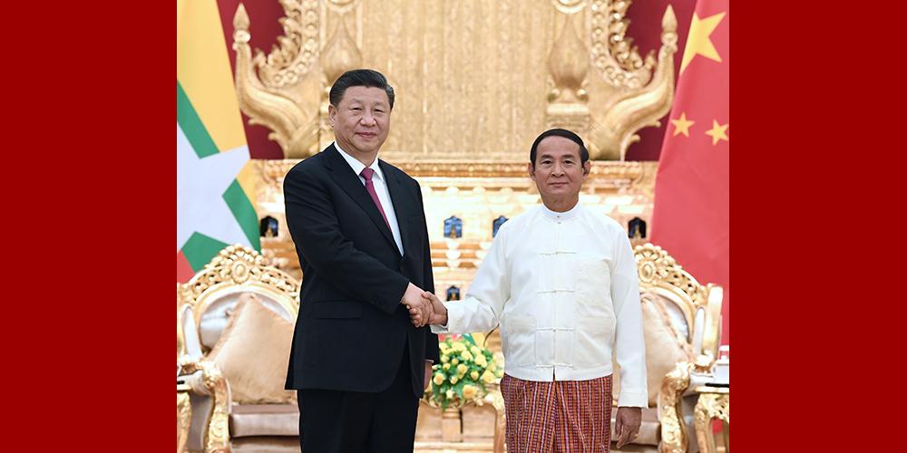 """Xi destaca importância de amizade """"Paukphaw"""" entre China e Mianmar"""
