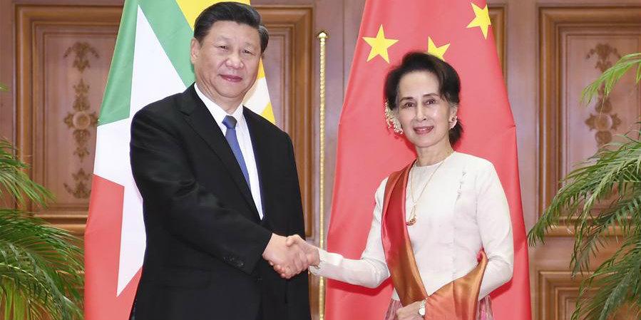 China e Mianmar concordam em construir conjuntamente uma comunidade com futuro compartilhado