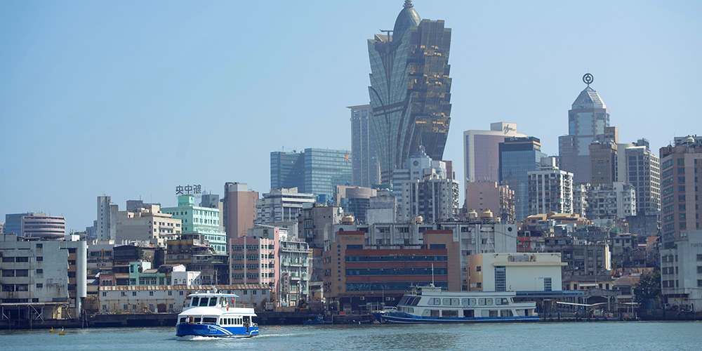 Porto retoma operação para servir passageiros viajando entre parte continental da China e Macau