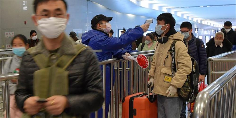 Estação Ferroviária de Nanchang intensifica medidas preventivas para conter a epidemia do novo coronavírus