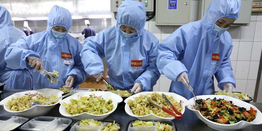 8 empresas de catering na cidade de Shijiazhuang se juntam ao combate contra a epidemia