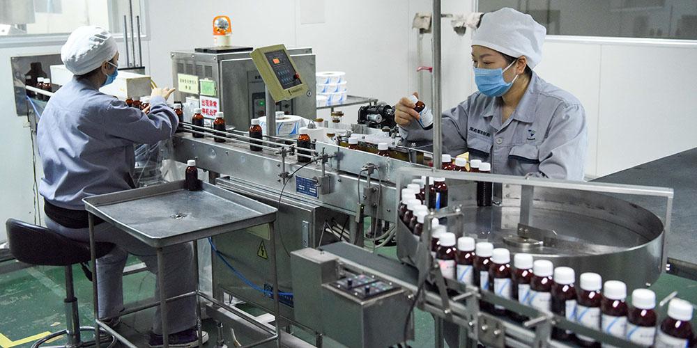 Empresas chinesas retomam produção em meio a rigorosas medidas de prevenção e controle