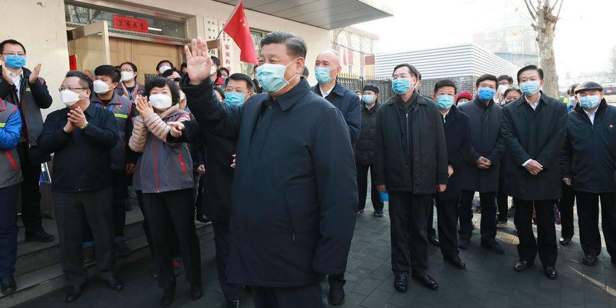 Como a China luta contra a COVID-19 sob o comando de Xi