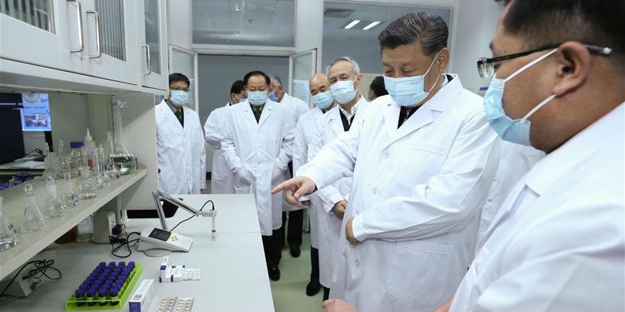 Xi destaca avanço da pesquisa científica sobre COVID-19 durante inspeção em Beijing