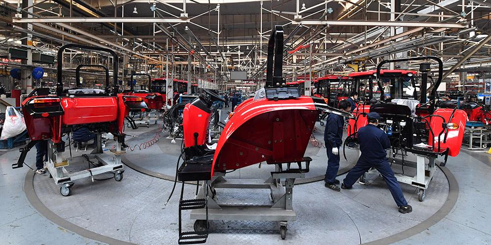 Empresas industriais chinesas acima do tamanho designado retomam operações