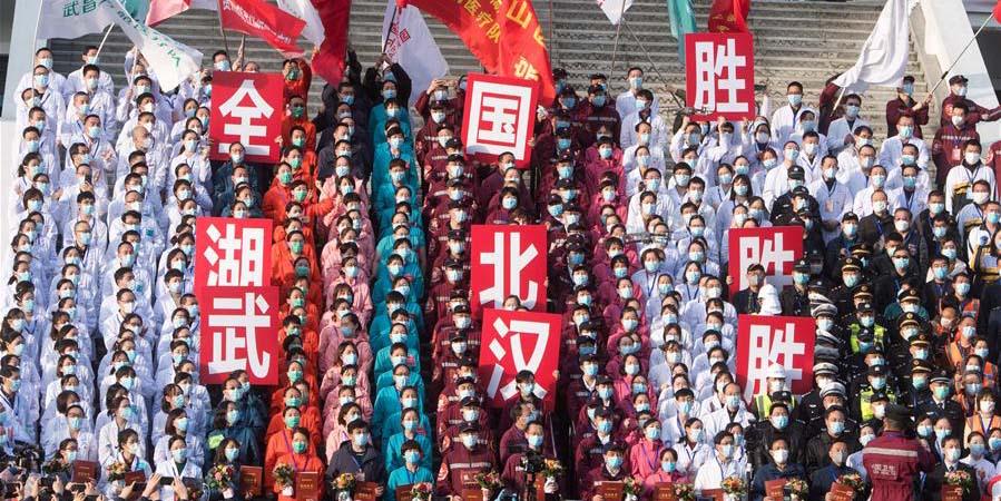 Wuhan fecha todos os 16 hospitais temporários