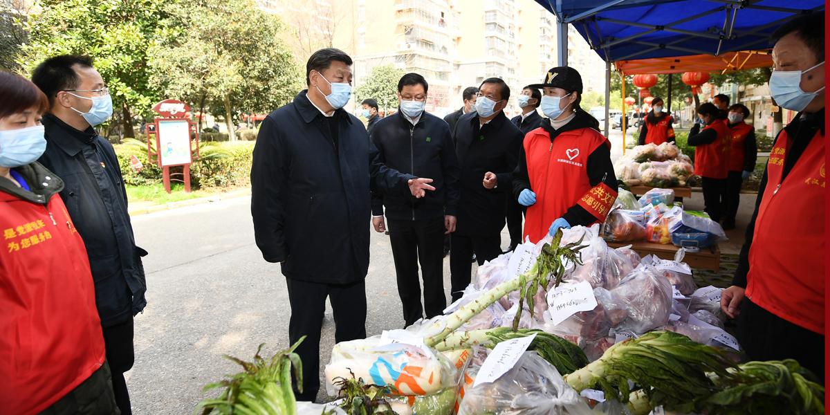 """Enfoque da China: """"Virando a maré"""" -- Xi lidera a guerra antivírus em direção à vitória"""