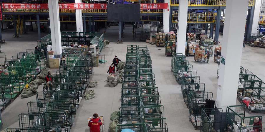 Empresas de logística retomam operações na cidade de Shenyang