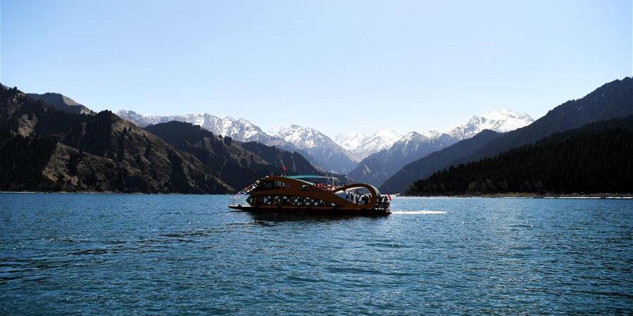 Fotos: Lago Tianchi em Xinjiang, noroeste da China