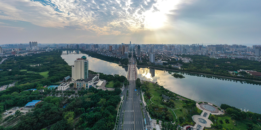 Fotos: paisagem de Nanning em Guangxi