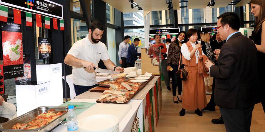 Shanghai realiza exposição de produtos italianos
