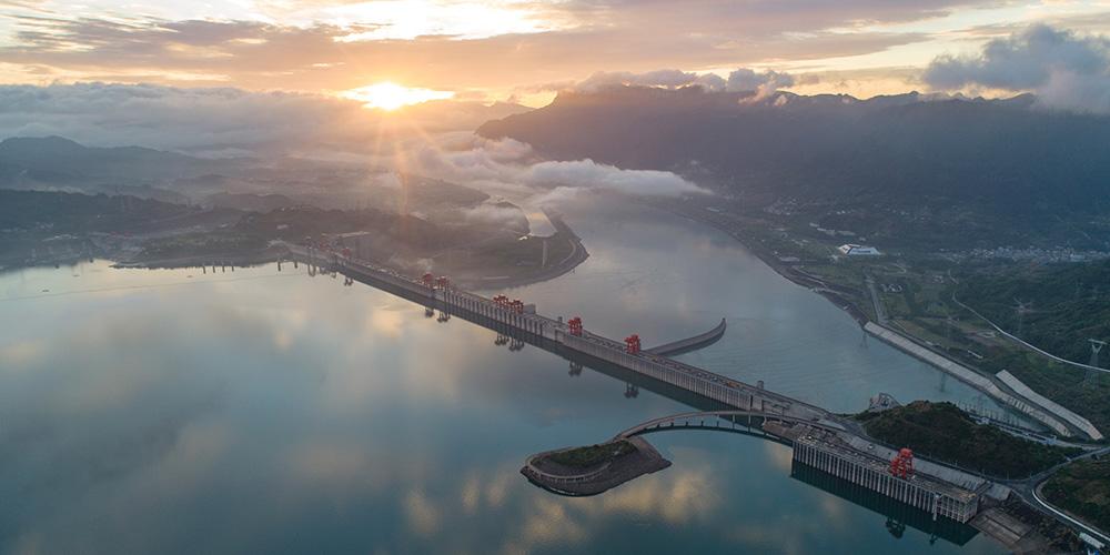 Fotos: Vista da Barragem das Três Gargantas em Hubei