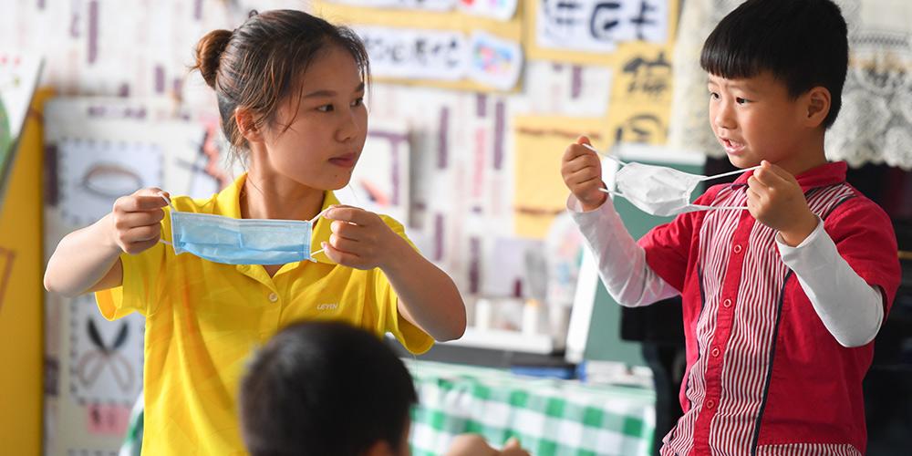 Cidade de Changsha reabre gradualmente jardins de infância