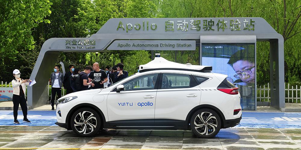 Cidade chinesa de Cangzhou expande área de testes para veículos de autocondução