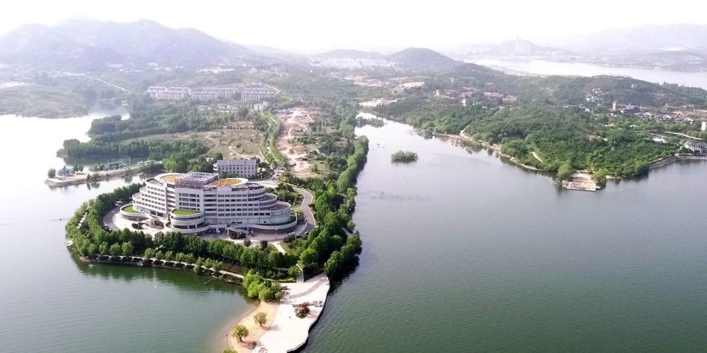 Fotos: Paisagem do lago Xueye em Jinan, província de Shandong