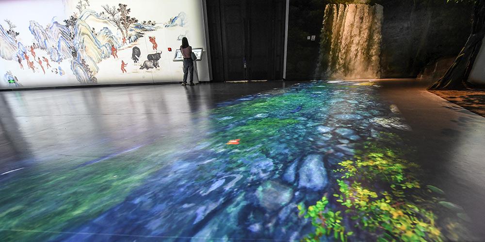 Museu de Hainan inaugura salão de exposições digitais