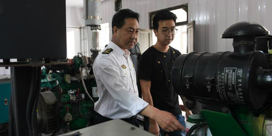 Fotos: cinco gerações de uma família trabalham como faroleiros em Ningbo, província de Zhejiang
