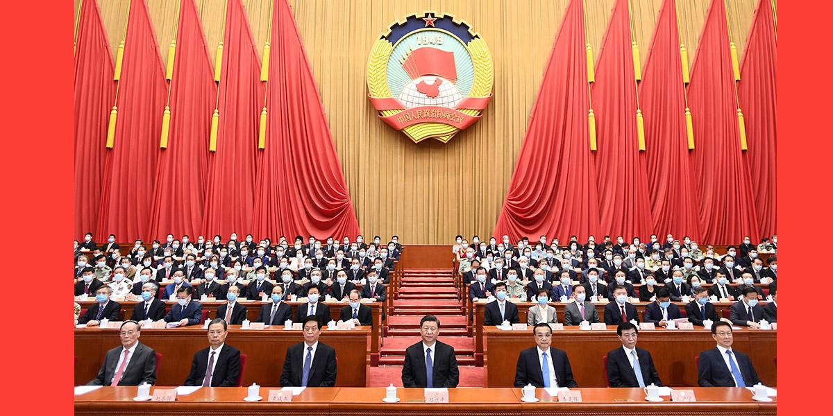 Enfoque: Mais alto órgão consultivo político da China conclui sessão anual