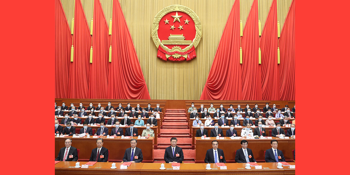 Enfoque: Mais alto órgão legislativo da China conclui sessão anual