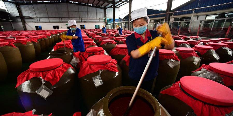 Fotos: indústria de fabricação de sopa azeda em Guizhou
